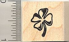 4-Leaf Clover rubber stamp A9110 WM St. Patrick's Day