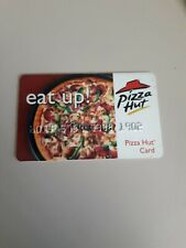 VINTAGE CLASSIC COLLECTIBLE PIZZA HUT GIFT CARD REFILLABLE...NO VALUE