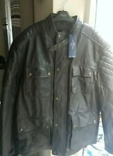 Next mens signature leather jacket size XL Brand New