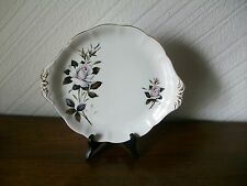 Vintage Royal Albert 'Queens Messenger' Bone China Cake Plate with Handles