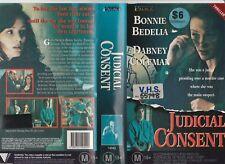 JUDICIAL CONSENT BONNIE BEDELIA DABNEY COLEMAN PALACE RARE PAL VHS VIDEO