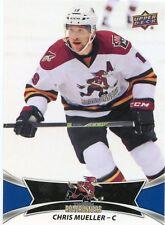 16/17 UPPER DECK AHL #88 CHRIS MUELLER TUCSON ROADRUNNERS *31009