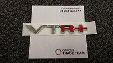 Genuine Citroen C4 & Picasso VTR+ Self Adhesive Badge Logo Chrome & Red  CIT8777