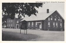 Postcard Salford Mennonite Church Harleysville PA