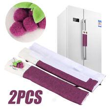 2Pcs Cotton Refrigerator Handle Cover Kitchen Appliance Fridge Wrap Covering