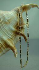 18 Karat Armband 750-er Gold Bicolor Gelb-Weßgold Neu L: 21,5 cm