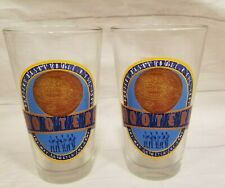 Lot of 2 HOOTERS Basketball 1983 The Way To Watch The Game Pint Beer Glass
