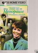 PBS' More Straight Talk on Menopause & Women's Health (VHS, 1997)