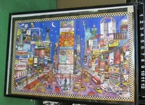 NEW YORK CITY POSTER NEW RARE VINTAGE COLLECTIBL TIME SQUARE