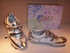 Scarpe sportive eleganti Asso bimba bambina shoes casual argento velcro nuove 25