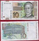 Lote de 2 billetes de 10 KUNA. Croacia/Coratia. Año 2012. Series A y B.