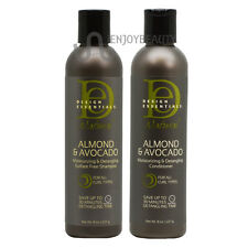 Design Essentials Natural Almond & Avocado Shampoo & Conditioner Combo /NailFile