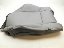 Genuine OEM Toyota Tacoma Upper Seat Cover Left Grey Vinyl 2015 With Map Pocket