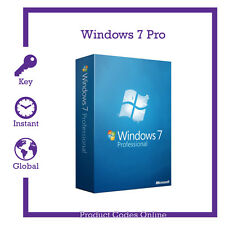 Genuine Microsoft Windows 7 Pro Professional 32/64bit Product Activation Key