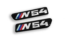 PAIR BMW E90 E92 E93 M3 335 N54 Fender Side grille emblem badge  51138042228