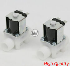 2pcs 12 12v Dc Electric Solenoid Valve Normally Open Nowater Etc