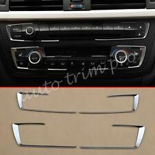 Chrome Inner Dashboard Console Cover For BMW F30 F31 F32 F34 F32 F36 Accessories