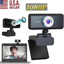 Usb Webcam Video Camera Web Cam With Mic For Computer Desktop Laptop Hd 1080P