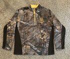 Realtree Camo 1/4 Zip Pullover Fleece Jacket Mens XL (46-48)