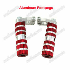 Red Racing Footpegs Foot Rest Pegs For 47cc 49cc Pocket Bike Mini Moto MTA1 MTA2