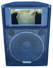 Yamaha S115IV 8-ohm 500W/1000W PA Stage Monitor Speaker (Missing Horn) - Single