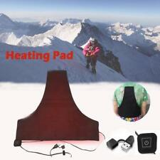 Electric Heating Vest Heated Pad Cloth Jacket Winter Warmer 5V USB Charger