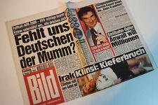 BILDzeitung 06.02.1998 Februar 6.2.1998 Geschenk 22. 23. 24. 25. Geburtstag