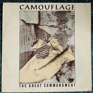 "The Great Commandment ""CAMOUFLAGE"" - Vinyl - LP 12"" Schallplatte"