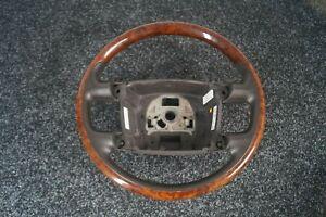 Original VW Phaeton 3D Holz Leder Lenkrad Nussbaum Braun  TOP 3D0419091R