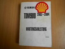 Werkstatthandbuch  Reparaturanleitung Yamaha TDM 900 (5PS) - Bj. 2002-2004