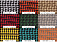 "Houndstooth Automotive Retro Headliner/General Upholstery Fabric 57"" W Sold BTY"