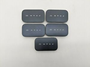 Lot of 5 Good ZTE Falcon Z-917 4G LTE Mobile WiFi Hotspot T-Mobile -NG0768