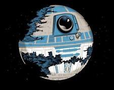 Star Wars R2D2 Deathstar Empire Darth Vader Parody Satire Teefury MEN Shirt NEW
