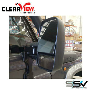 Clear View Next Gen Towing Mirrors to suit Toyota Landcruiser Series 1984 to Cur