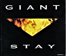 Giant - Card Digipak Maxi Single CD - Stay - 1992 EPIC 658098-2 - 4 Tracks