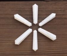 NATURAL SCOLECITE DOUBLE TERMINATED GEMSTONE CRYSTAL PENCIL POINT (ONE)