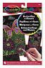 Melissa & Doug Scratch Art Childrens Creative Kit Butterflies & Flowers Craft