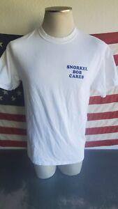 VTG SNORKEL BOBS SHIRT SIZE L 1987 OAHU, HAWAII SHARK SNORKEL OCEAN BEACH RARE!!