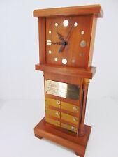 1964 Award CLOCK w/DIAMONDS Gas/Electric IND To ASSEMBLYMAN BROMLEY