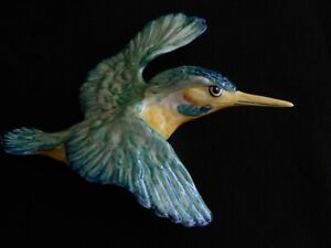Beswick 1950's flying wall Kingfisher 729- 2 ' Perfect condition'