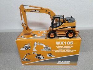 Case WX185 Wheeled Excavator - Conrad 1:50 Scale Diecast Model #2920/0