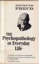The Psychopathology of Everyday Life. The Standard Edition.January 1, 1965.
