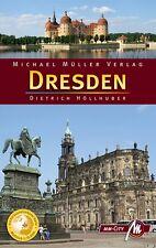 DRESDEN Michael Müller Reiseführer 11 D1 Sächsische Schweiz Stadtführer MM-City
