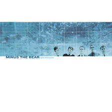 Minus The Bear Highly Refined Pirates CLEAR VINYL LP Record & MP3 indie rock NEW