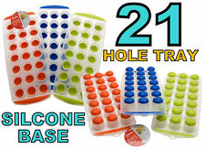 Ice Cube Trays Non Stick Easy Pop out Soft Silicone Juice Party Freezer Drinks