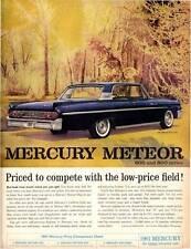 1961 Mercury Meteor 800 2-Door Vintage PRINT AD