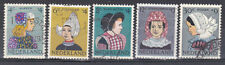 Nederland/Netherlands 747-751 Kinderzegels klederdrachten  1960 mooi gestempeld
