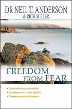 Freedom From Fear: Overcoming Anxiety And Wo... by Anderson, Dr. Neil T Big book