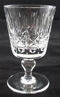 Thomas Webb KINGSWINFORD 5 x crystal wine glass 4 1/4 inch tall
