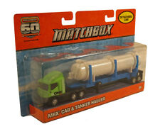 Matchbox MBX Cab & Tanker Hauler with Detachable Cab ~ 60th Anniversary Edition